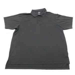Adidas Climalite 2XL Black Polo Rugby  Polyester